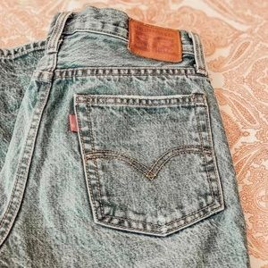 LEVIS HIGH WAISTED WEDGIE JEANS
